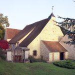 CHEVRY SOUS LE BIGNON - Eglise de face