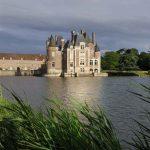 vue du chateau LA BUSSIERE