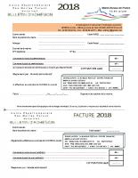Bulletin d'adhésion 2018 bon PDF